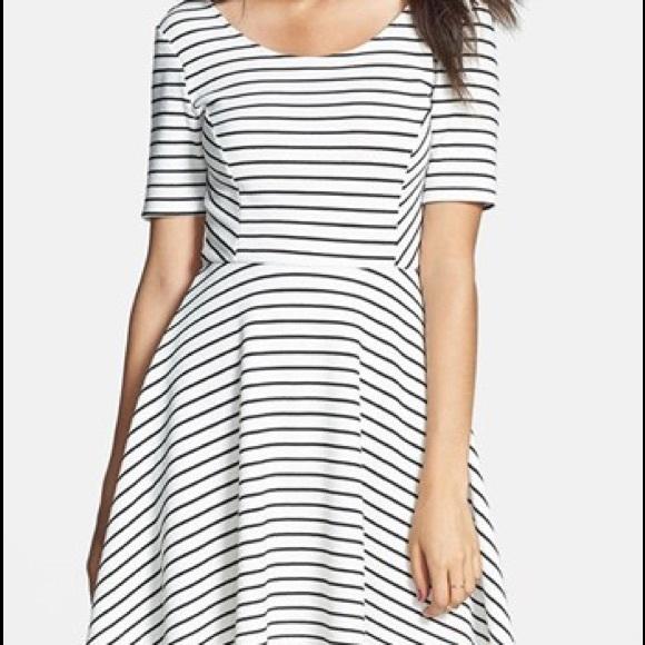 Lush Dresses & Skirts - 👠5 for $20 Striped skater dress by Lush